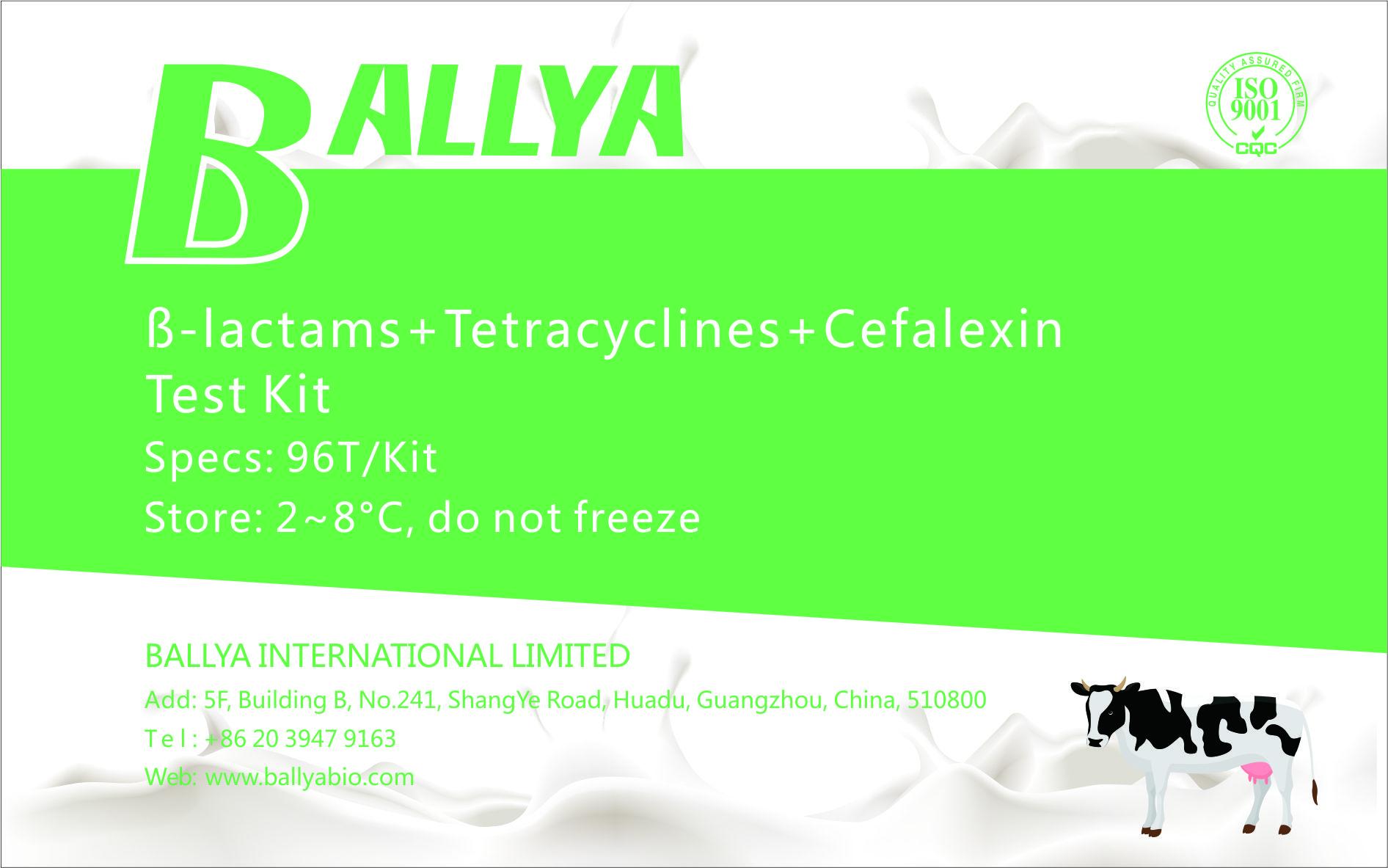 ß-lactams-Tetracyclines-Cefalexin