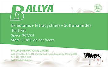 ß-lactams+Tetracyclines+Sulfonamides