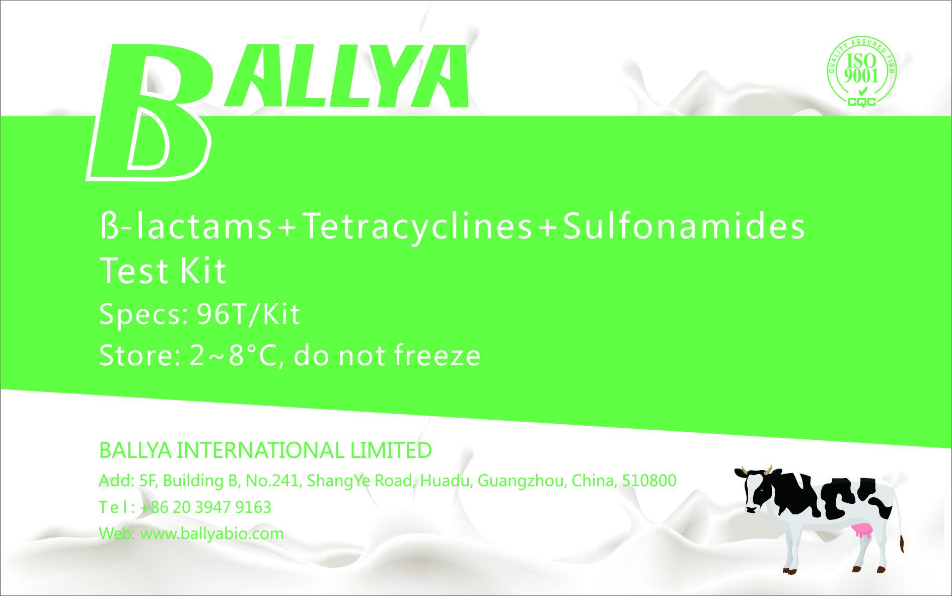ß-lactams-Tetracyclines-Sulfonamides