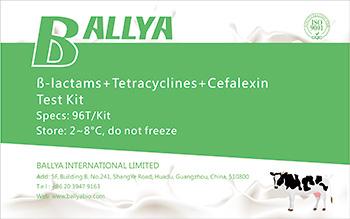 beta-lactams + Tetracyclines + Cefalexin
