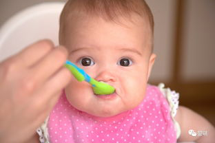 baby eating mush