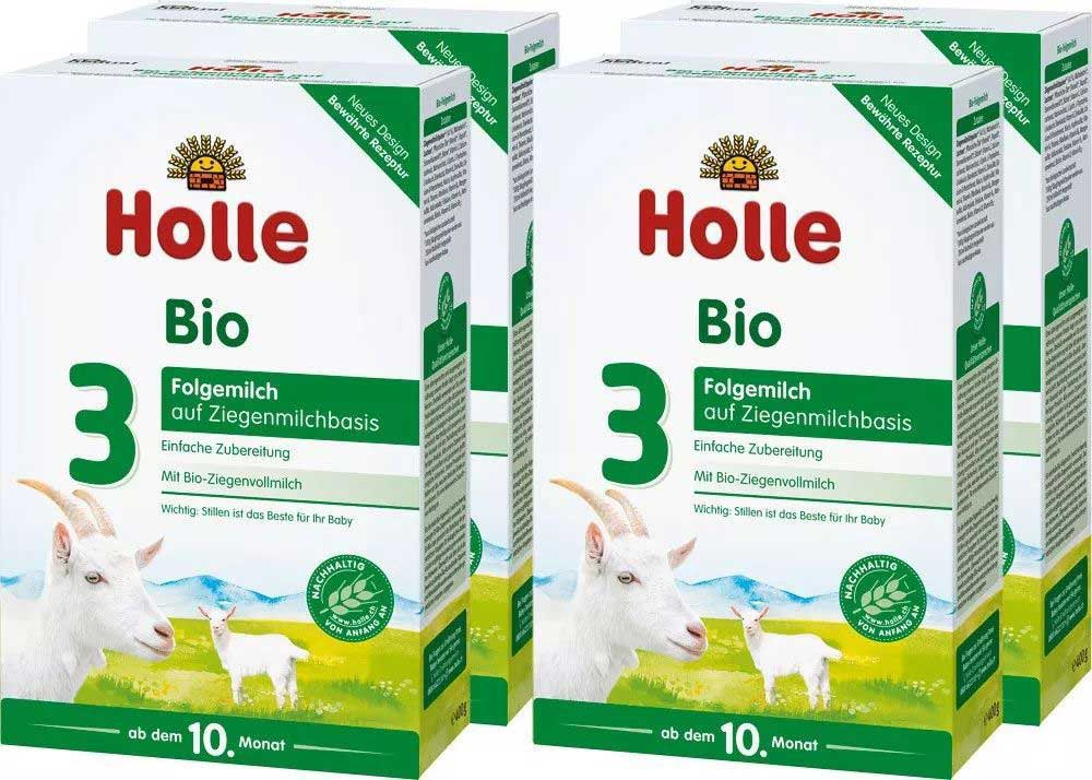 Holle organic goat milk powder