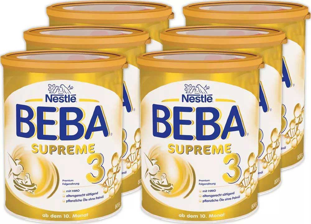Nestlé BEBA SUPREME Milk Powder