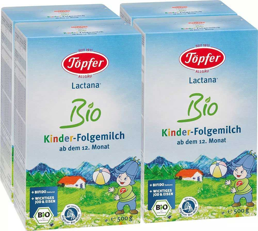 Töpfer Organic Baby Milk Powder Lactana