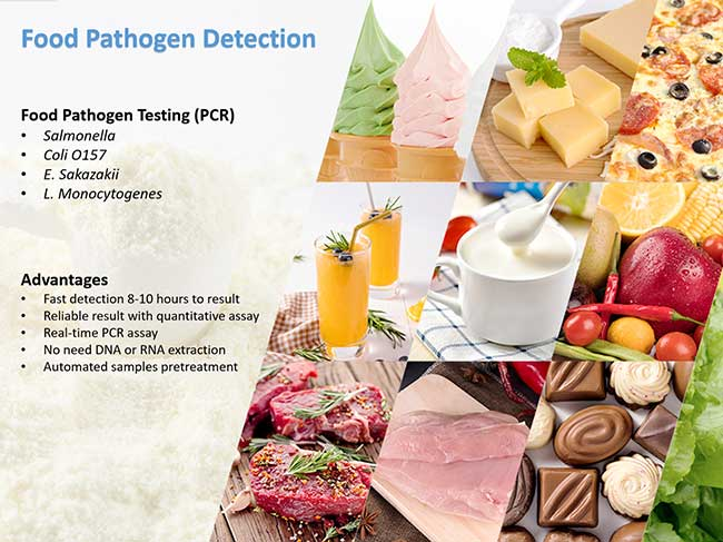 food pathogen testing